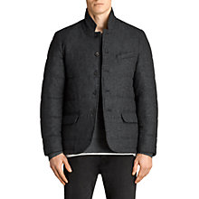 Buy AllSaints Axel Blazer Jacket, Charcoal Grey Online at johnlewis.com