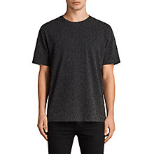 Buy AllSaints Panther Crew Neck Animal Print T-Shirt Online at johnlewis.com