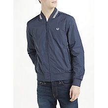 Buy Fred Perry Twin Tipped Bomber Jacket, Dark Airforce Online at johnlewis.com