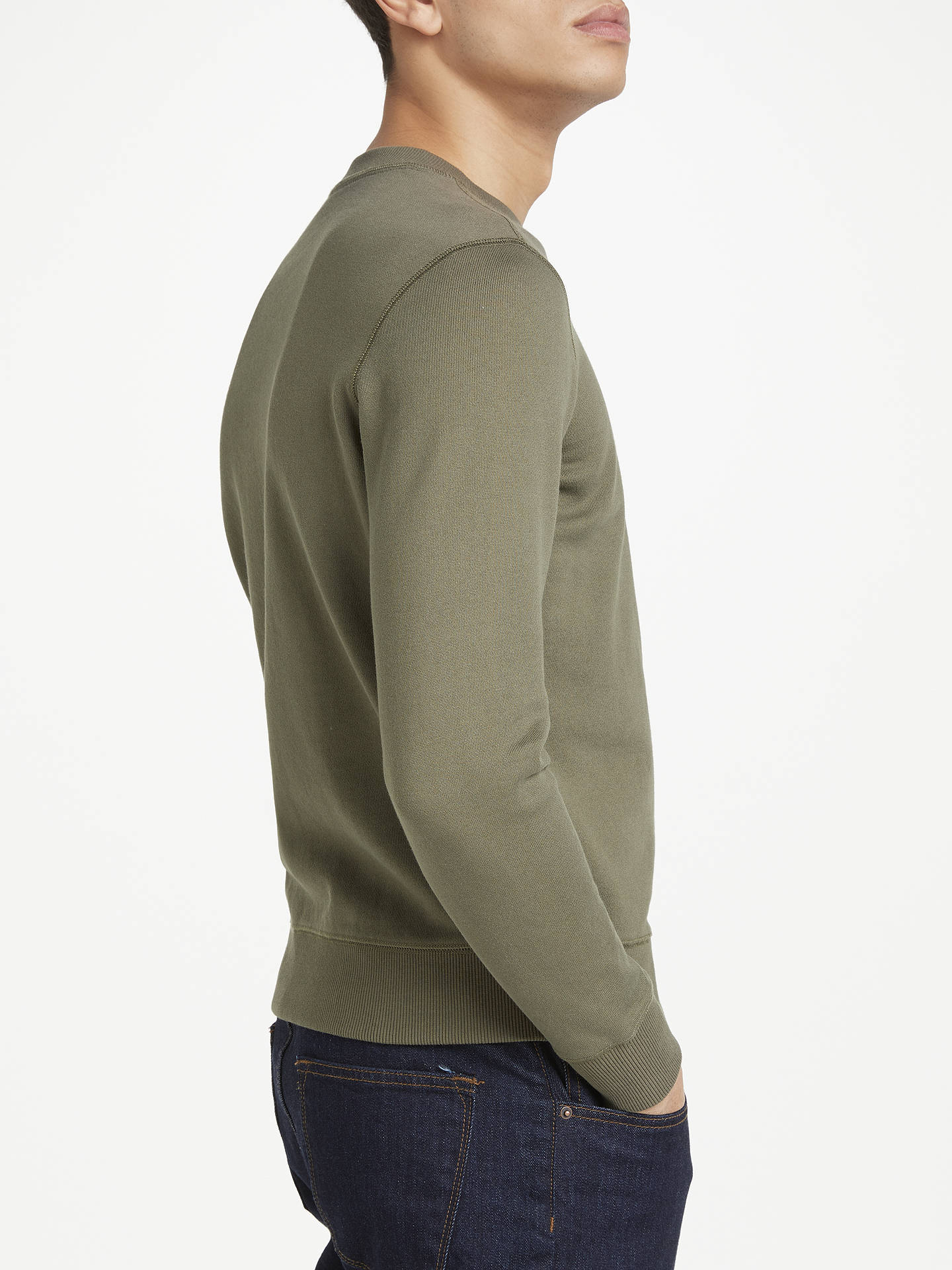 John Lacoste Green SweatshirtArmy Partners Crew Neck At Lewisamp; Live 7bYgfyv6