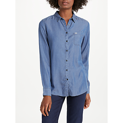 Lee One Pocket Denim Shirt, Beyond Blue