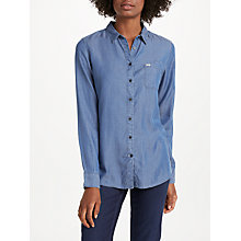 Buy Lee One Pocket Denim Shirt, Beyond Blue Online at johnlewis.com