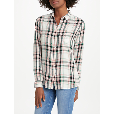 Lee One Pocket Check Shirt, Faded Pink