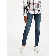 Buy Lee Scarlett Regular Waist Skinny Jeans, Strummer Worn Online at johnlewis.com