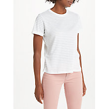 Buy Lee Sheer Stripe T-Shirt Online at johnlewis.com
