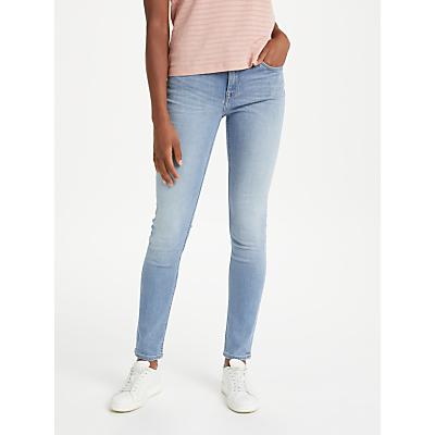 Lee Scarlett Regular Waist Skinny Jeans, Sultry Blue