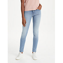 Buy Lee Scarlett Regular Waist Skinny Jeans, Sultry Blue Online at johnlewis.com