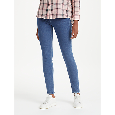 Lee Scarlett High Waist Skinny Jeans, Mid Stone