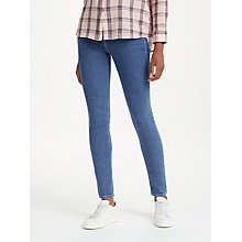 Buy Lee Scarlett High Waist Skinny Jeans, Mid Stone Online at johnlewis.com
