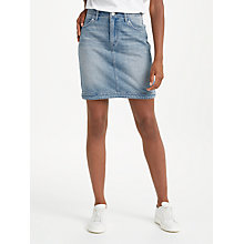 Buy Lee Mom Denim Skirt, Buzz Hype Online at johnlewis.com