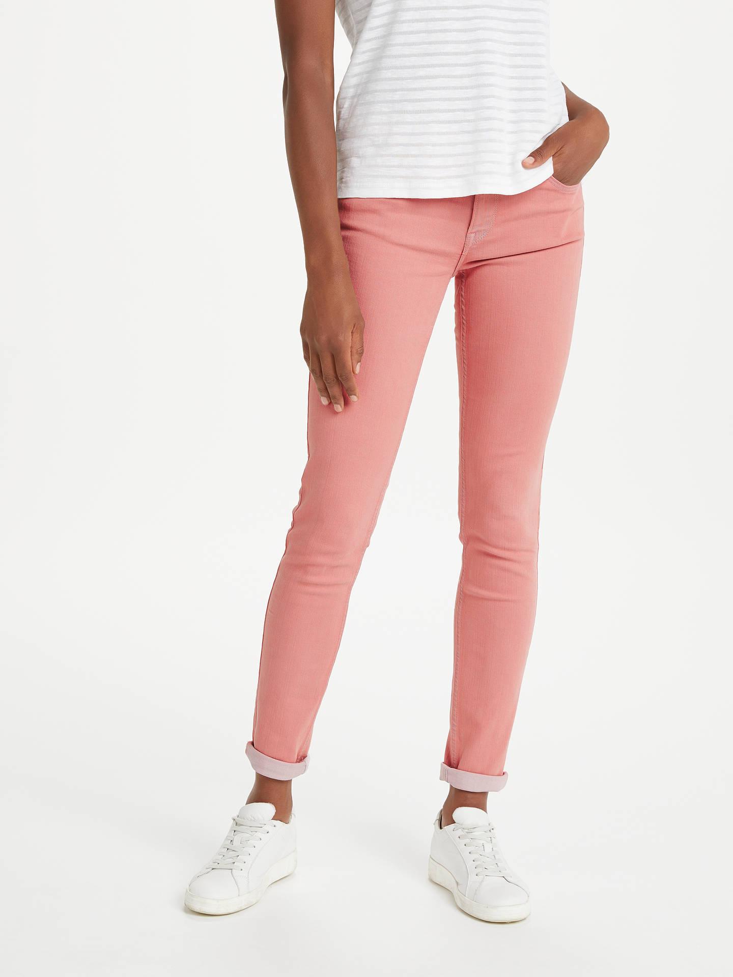 a890648128cfe0 Buy Lee Scarlett Regular Waist Skinny Jeans, Pastel Pink, W27/L31 Online at  ...