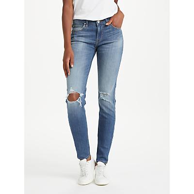 Lee Scarlett Regular Waist Skinny Jeans, Slam Damage