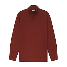 Buy Jaeger Zip Roll Neck Sweatshirt Online at johnlewis.com