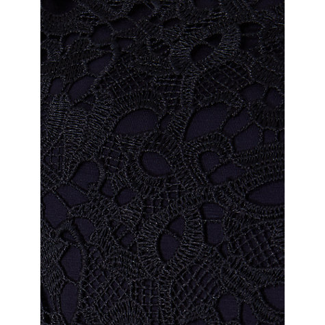 Buy Phase Eight Peggy Lace Dress, Navy Online at johnlewis.com