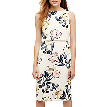 Buy Phase Eight Peony Floral Print Dress, Cream/Multi Online at johnlewis.com