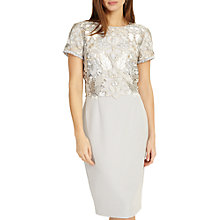 Buy Phase Eight Suki Lace Dress, Grey Smoke Online at johnlewis.com