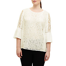Buy Studio 8 Anna Lace Blouse, Ivory Online at johnlewis.com