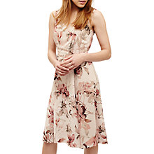 Buy Phase Eight Vivien Floral Print Dress, Pink Cameo Online at johnlewis.com