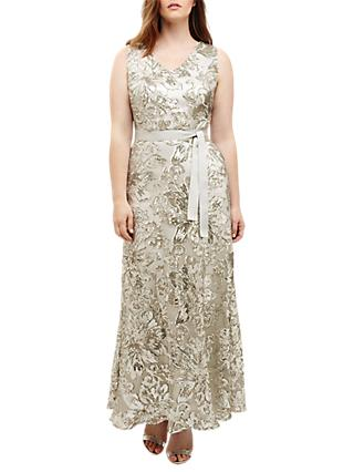 Studio 8 Venus Maxi Dress, Silver