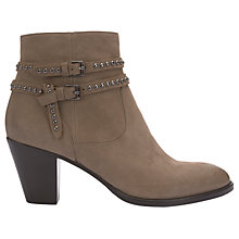 Buy Mint Velvet Neve Block Heeled Ankle Boots Online at johnlewis.com