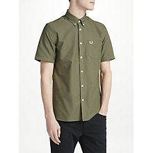 Buy Fred Perry Classic Oxford Short Sleeve Shirt Online at johnlewis.com
