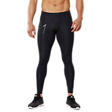 Buy 2XU Compression Men's Tights, Black/Nero Online at johnlewis.com