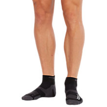 Buy 2XU Vectr 1/4 Compression Socks, Black/Titanium Online at johnlewis.com