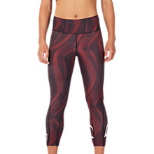 Buy 2XU Compression Mid-Rise Print 7/8 Women's Tights Online at johnlewis.com