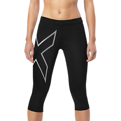 2XU Compression 3/4 Training Tights, Black