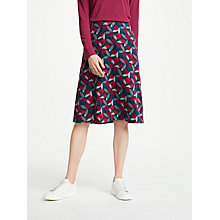 Buy Seasalt Brume Skirt, Layered Berry Raven Online at johnlewis.com