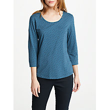 Buy Seasalt Cousin Jinny Top, Blue Online at johnlewis.com