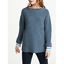 Buy Seasalt Kennal Vale Jumper, Blue Online at johnlewis.com
