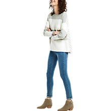 Buy Joules Uma Stripe Jumper, Grey Online at johnlewis.com
