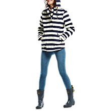 Buy Joules Right as Rain Coast Printed Waterproof Jacket, French Navy Stripe Online at johnlewis.com