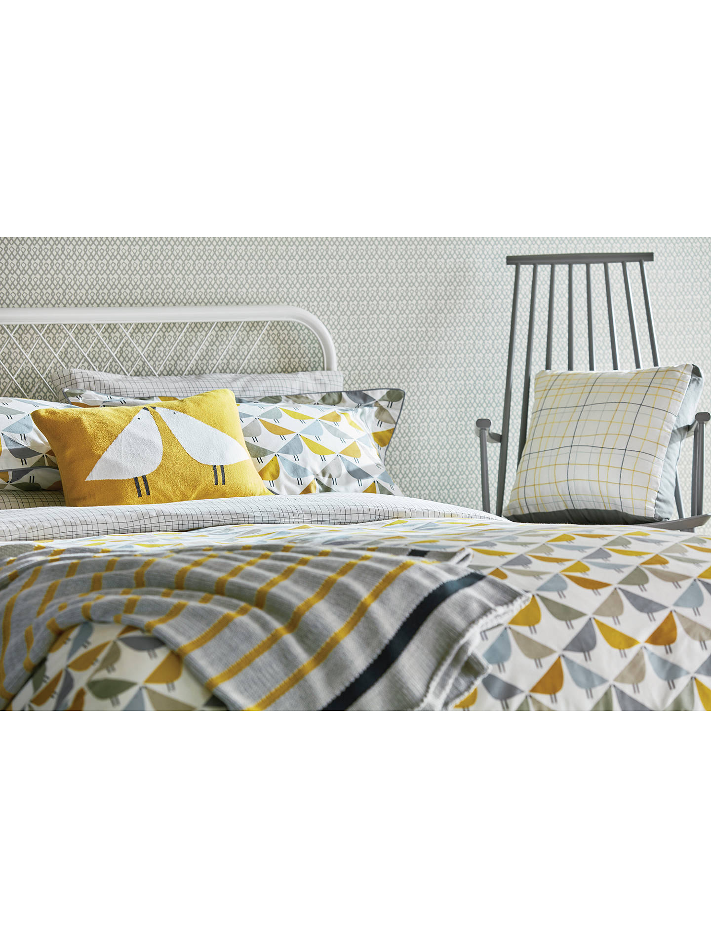 BuyScion Lintu Single Duvet Cover, Multi Online at johnlewis.com