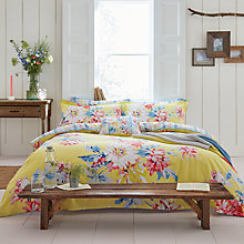 Buy Joules Whitstable Bedding, Yellow / Multi Online at johnlewis.com
