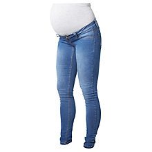 Buy Mamalicious Ella Skinny Jeans, Blue Online at johnlewis.com