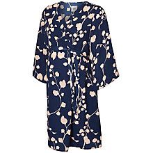 Buy Mamalicious Kaleva Woven Floral Dress, Navy/Pink Online at johnlewis.com