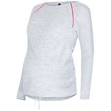 Buy Séraphine Kinsey Drawstring Maternity Jumper, Blue Marl Online at johnlewis.com
