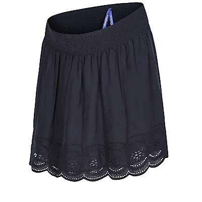 Séraphine Dana Crochet Maternity Skirt, Navy