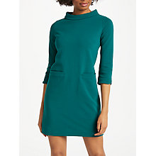 Buy Boden Louise Jersey Tunic Dress, Deep Forest Online at johnlewis.com