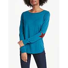 Buy Boden Susie Star Jumper Online at johnlewis.com