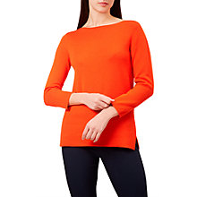 Buy Hobbs Cassey Jumper, Chilli Red Online at johnlewis.com