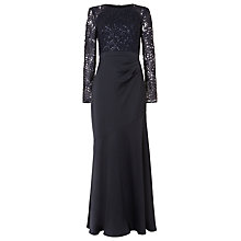 Buy Phase Eight Monique Sequin Maxi Dress, Midnight Online at johnlewis.com
