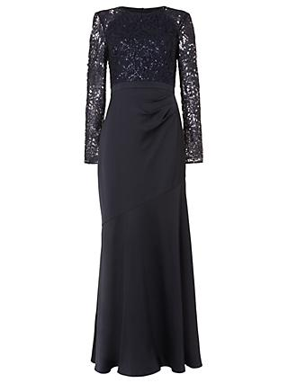 Phase Eight Collection 8 Monique Sequin Maxi Dress, Midnight