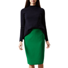 Buy Hobbs Kira Pencil Skirt, Apple Green Online at johnlewis.com