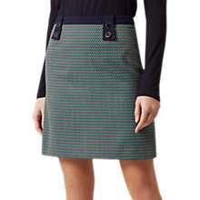 Buy Hobbs Farrah A Line Skirt, Multi Online at johnlewis.com