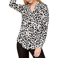 Buy Damsel in a Dress Urban Leopard Blouse, Multi Online at johnlewis.com