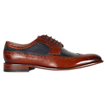 Buy Oliver Sweeney Endellion Leather Derby Brogues, Tan Online at johnlewis.com