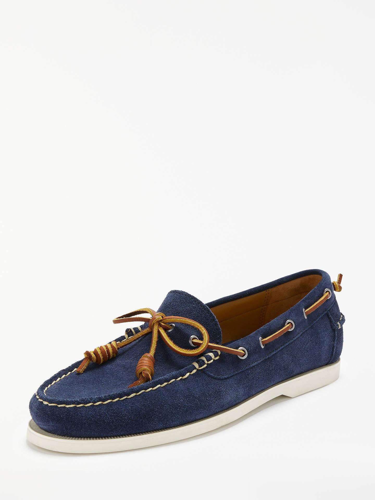 Polo Ralph Lauren Millard Suede Boat Shoes at John Lewis   Partners 97551dd160d